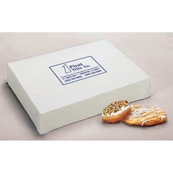 Flat White Donut Box