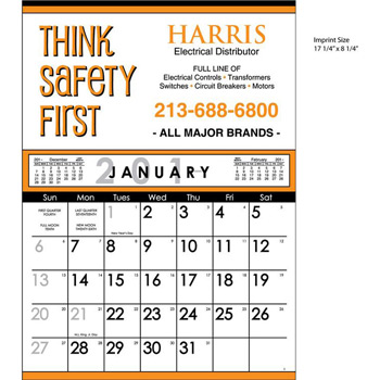 Commercial 12 Sheet Contractor's Calendar