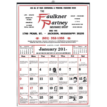 Small Commercial 12 Sheet Calendar