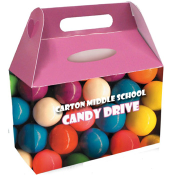 Full Color Goody / Donation Box